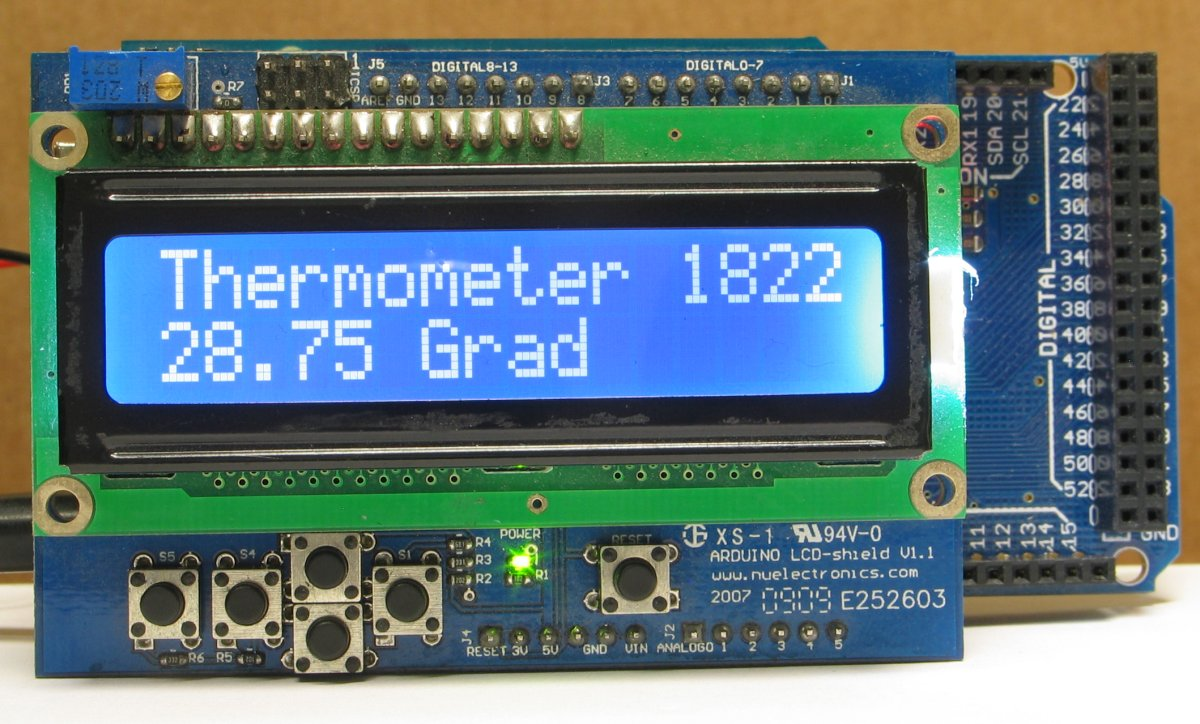 lcd thermometer mit dallas ds1820 bzw ds1822Pic Ds1820 Thermometer #11