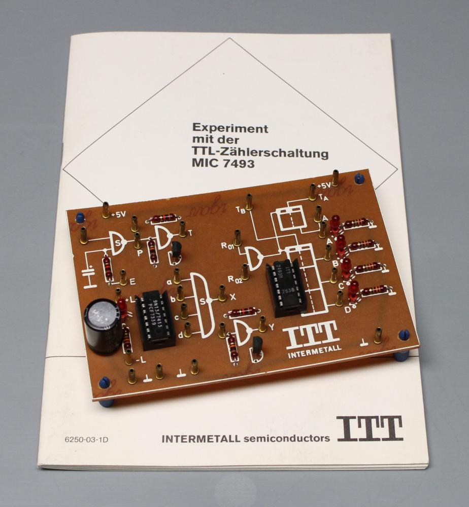 Elektronik Experimente ITT 7493 Natur & Wissenschaft Physik